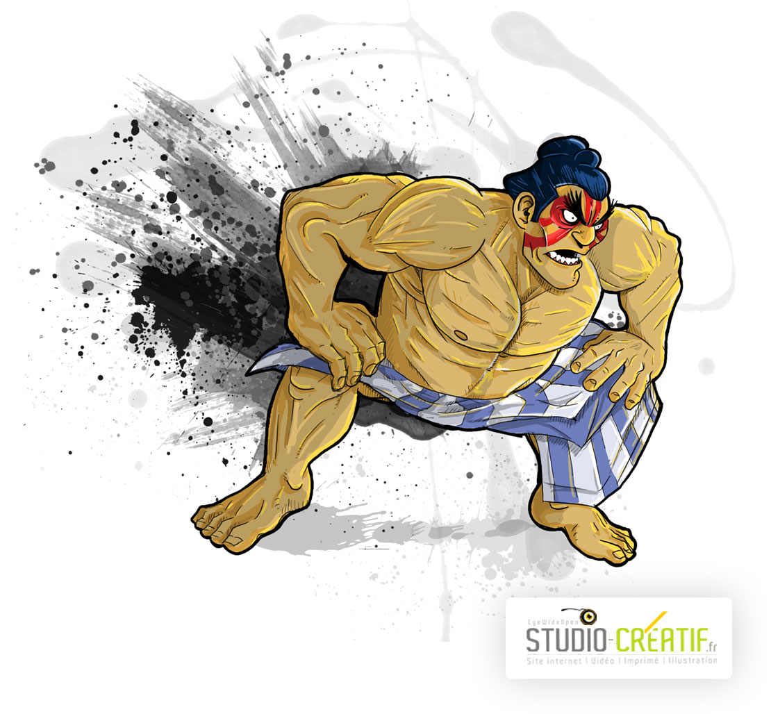 E-Honda-Street-fighter-2-studio-creatif-eyewideopen-illustration-Strasbourg-site-internet-webdesign-graphisme-video-illustration