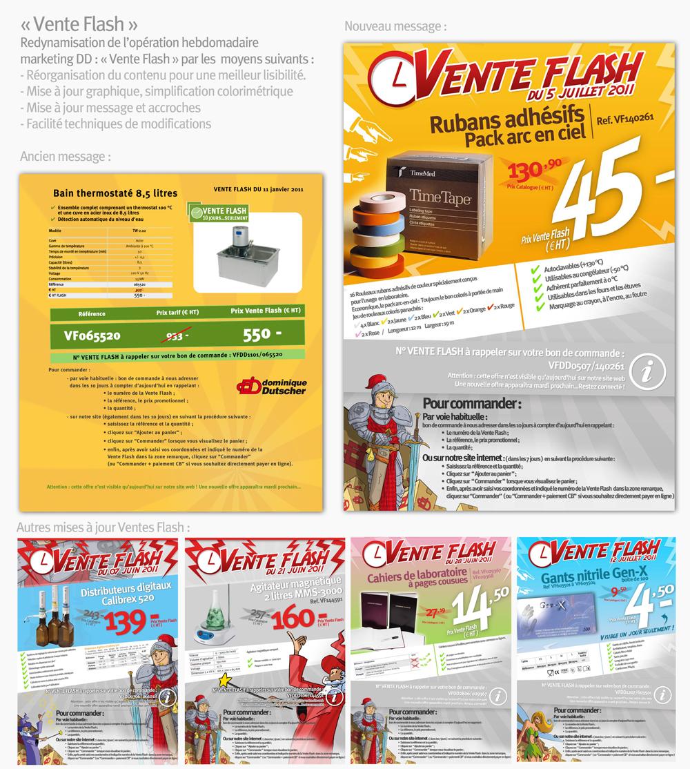 Campagne webmarketing vente flash dd studio cr atif - Vente flash internet ...
