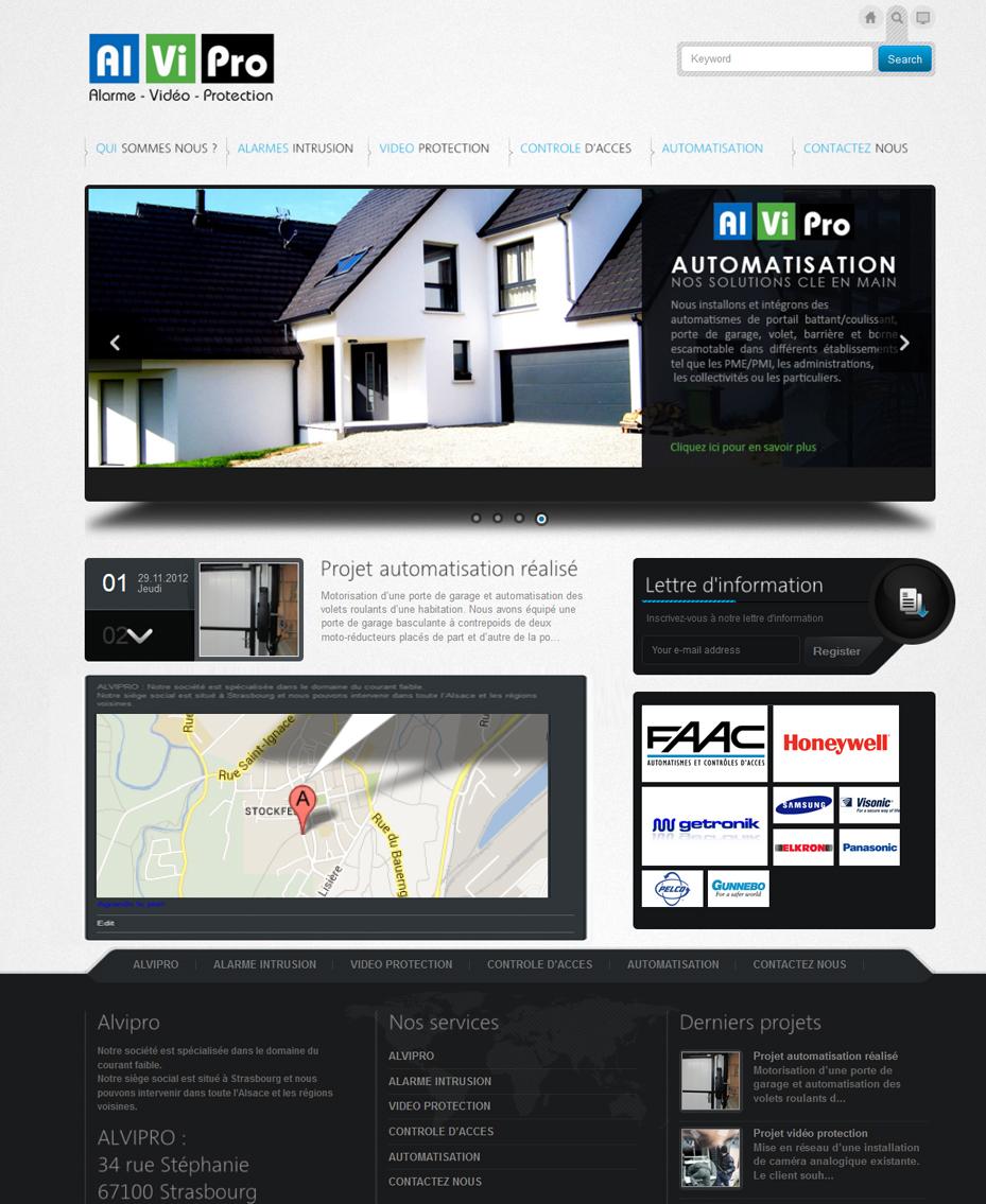 site internet entreprise garage alvipro