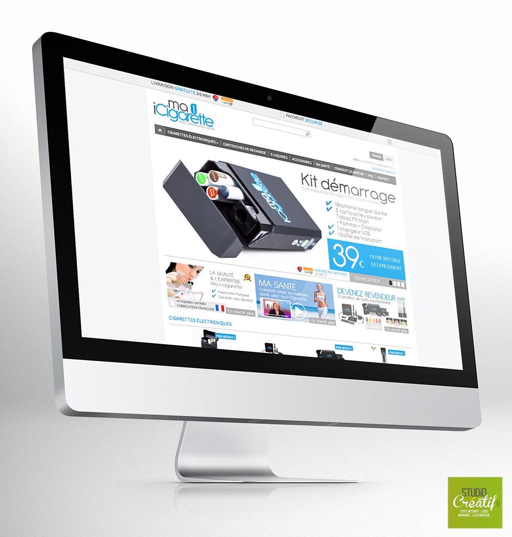 Création e-commerce cigarette electronique