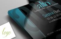 création logo carte visite alto