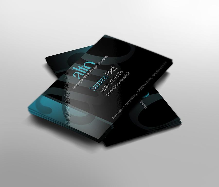 création logo carte visite alto conseil