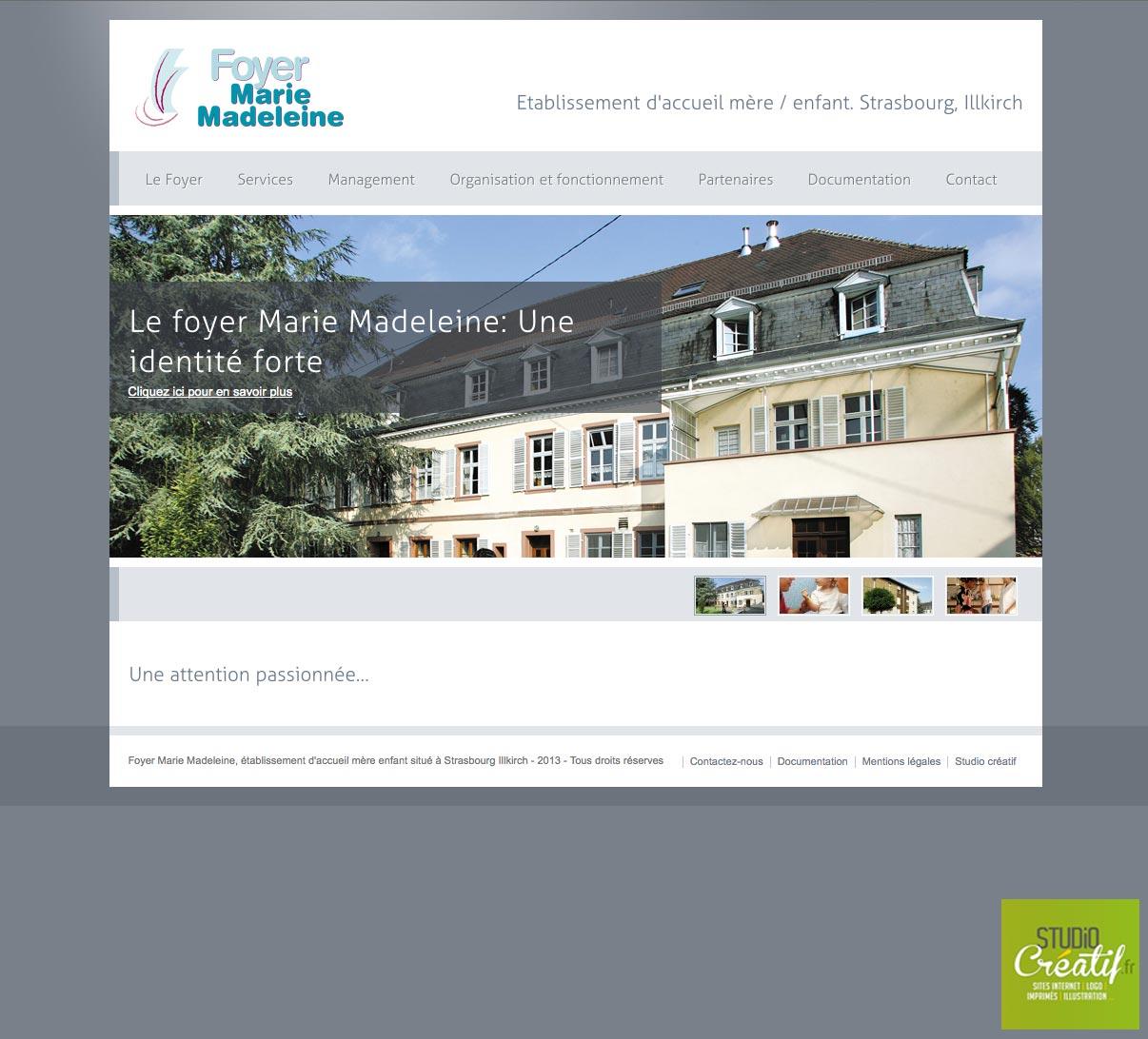 foyer-marie-madeleine-page-accueil-brumath site internet