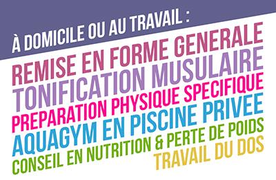 Carte Visite Coach Guadeloupe Logo Sportif