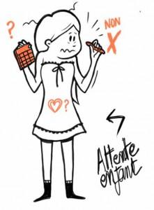 illustrateur strasbourg-femme-attente-enfant