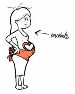 illustrateur strasbourg-femme-enceinte