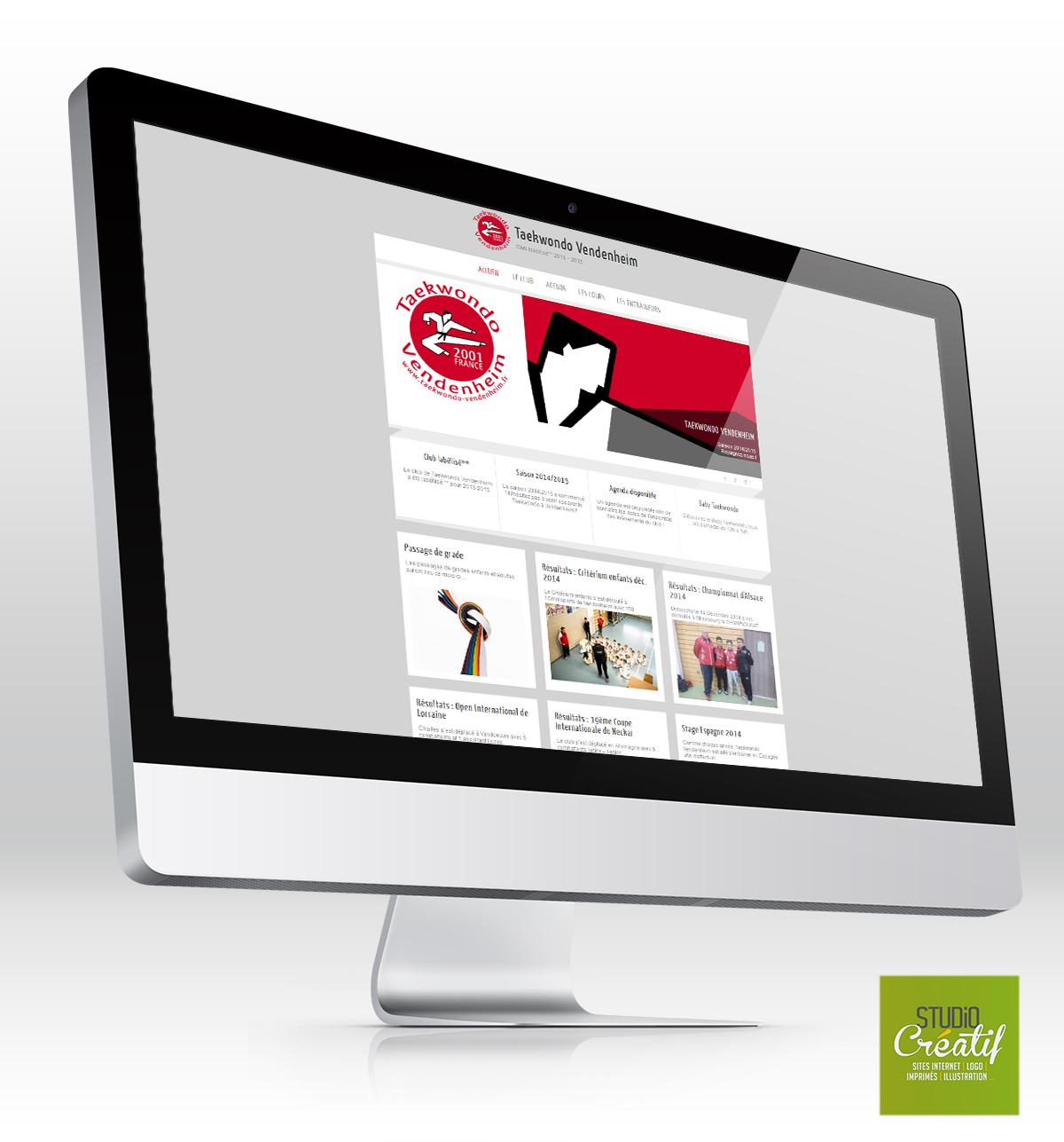 Site internet Taekwondo création