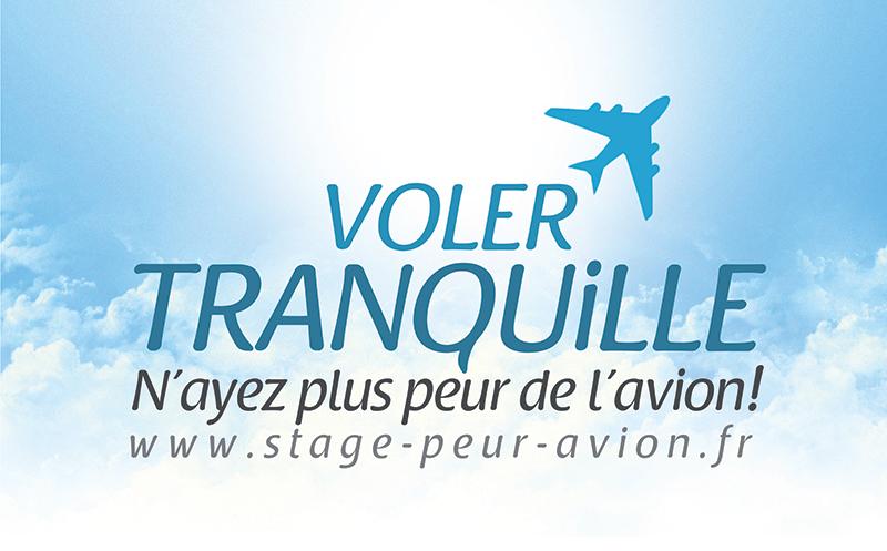 Logo cartes visites entreprise avion