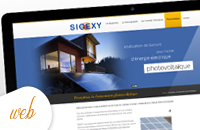 Création site internet immobilier synexy