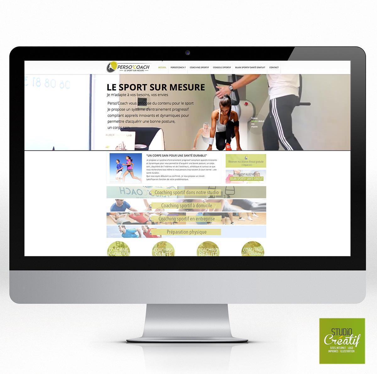 site internet coach sportif brumath