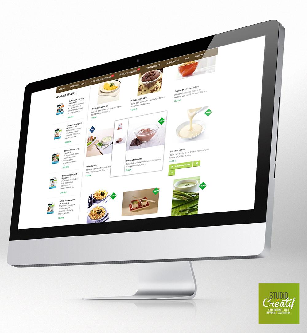 e-commerce santé régime diététique