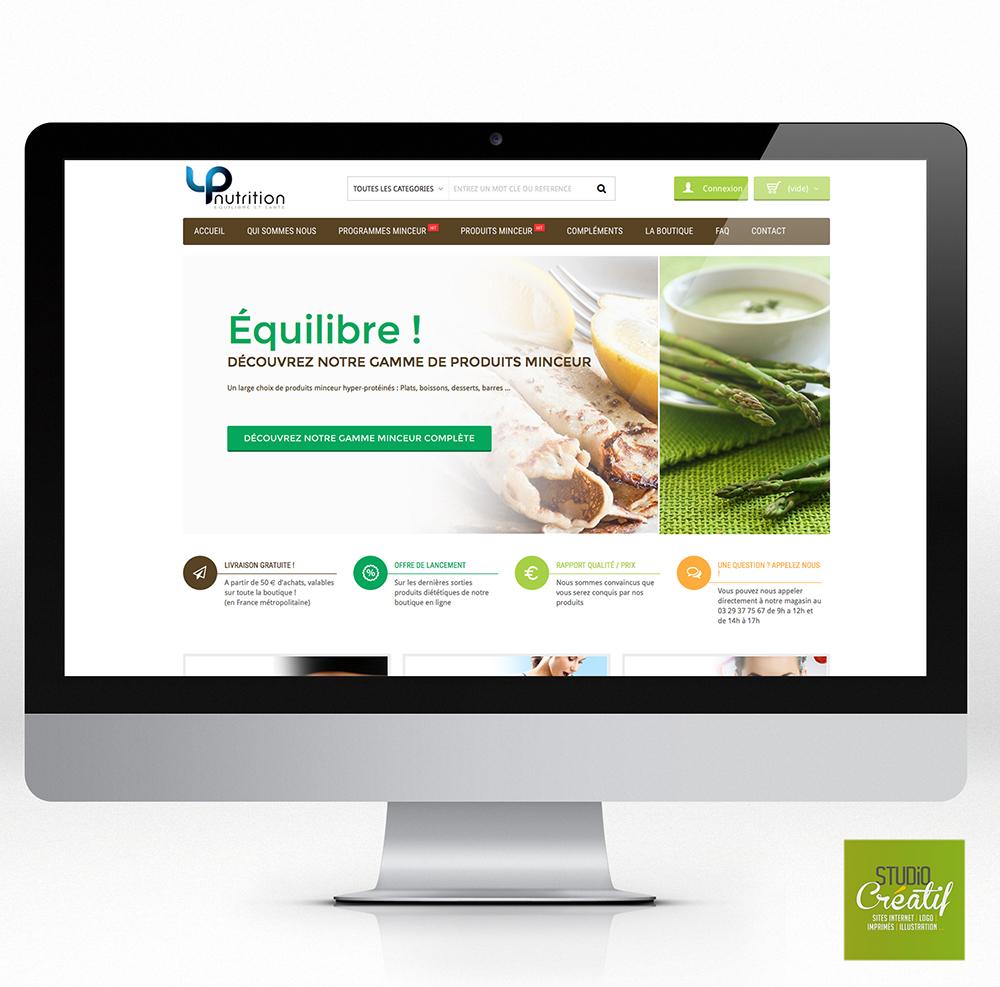 e-commerce santé régime nutrition