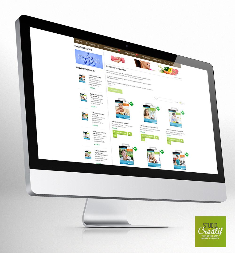 e-commerce santé régime