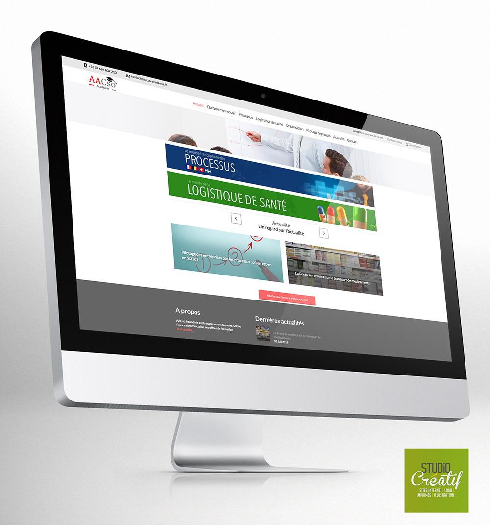 Site internet formation en ligne