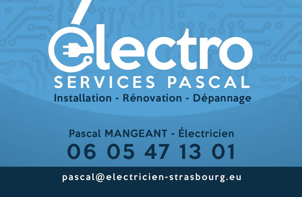 cartes de visite électricien Strasbourg europe